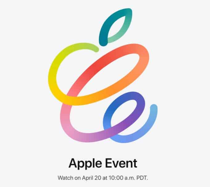 Apple Event - April 20, 2021 - iPad Pro with MiniLED, AirTags