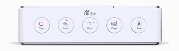 BioBidet Discovery DLS remote control review