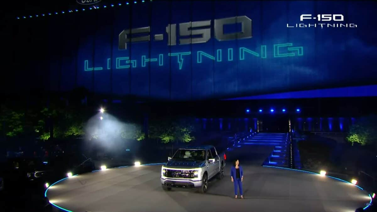 Ford F-150 Lightning Live Reveal