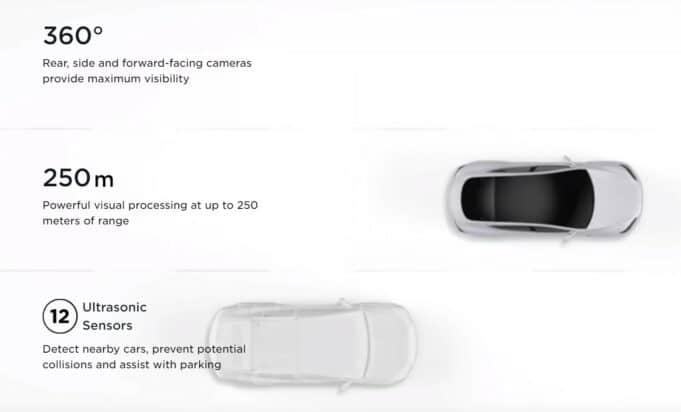 Tesla camera vs radar Vision update
