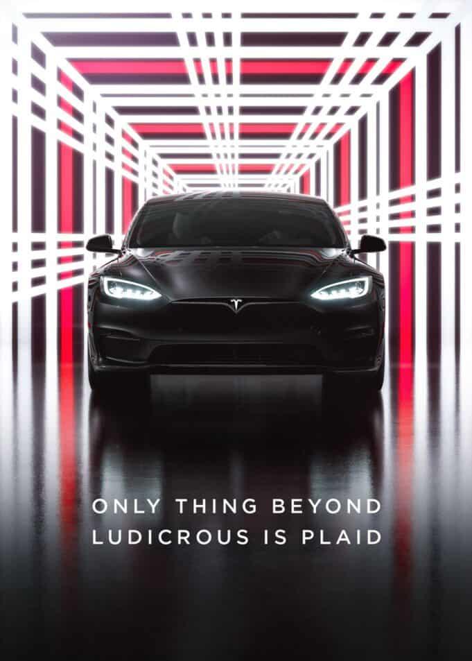 Tesla Model S Plaid delivery event live stream
