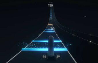 Peloton Lanebreak video game screenshot