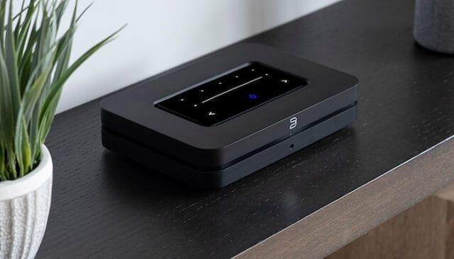 Bluesound Node streamer and DAC for Tidal, Qobuz, Spotify