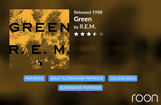 Green Allmusic Review 1988 REM revisited