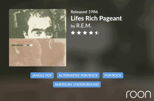 Lifes Rich Pageant Allmusic Review 1986 REM revisited