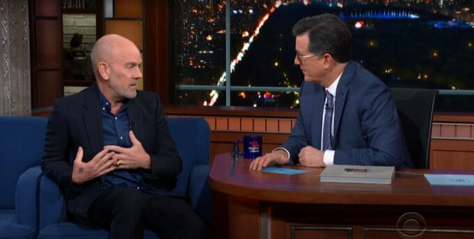 Michael Stipe interview with Stephen Colbert