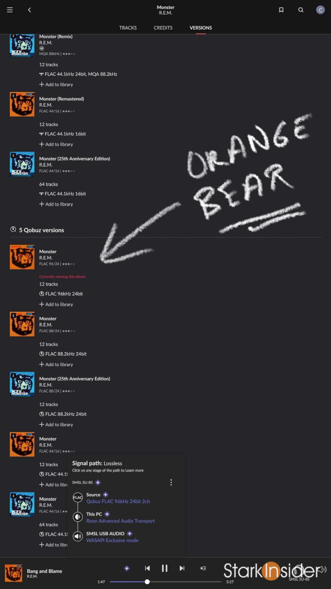 R.E.M. Orange Bear Monster vs Blue Bear Remix-