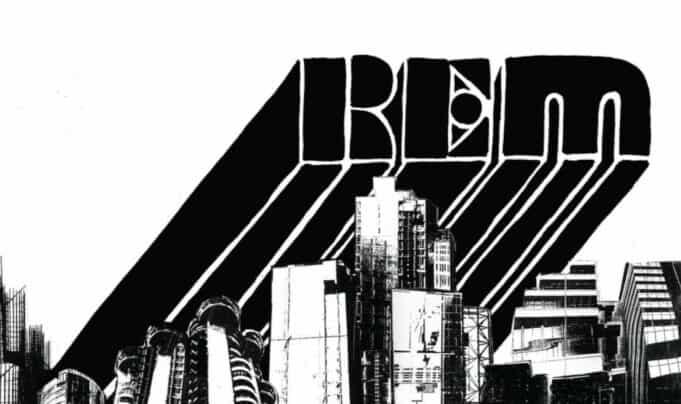 R.E.M. Accelerate - Graphic Design and Logo