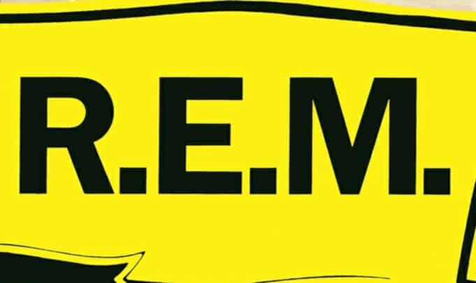 R.E.M. Out of Time - Graphic Design and Logo