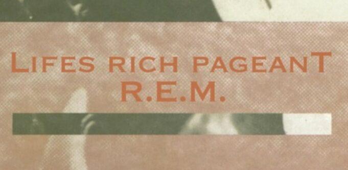 REM Lifes Rich Pageant - Graphic Design and Logo