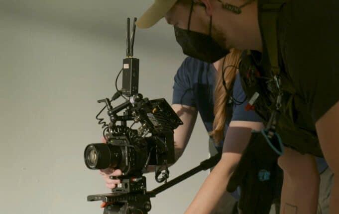 Panasonic BS1H on set